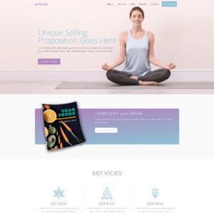 Health & Wellness Prebuilt Site