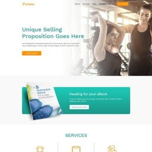 Fitness & Nutrition Coaching Website