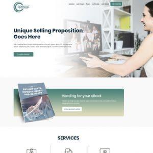 Business Coach Website